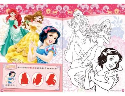 随手画画册 迪士尼公主