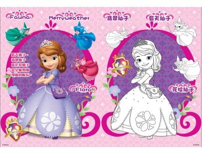 小公主苏菲亚 彩色贴贴画