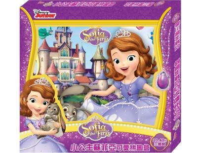 小公主苏菲亚 可爱拼图盒(3入)