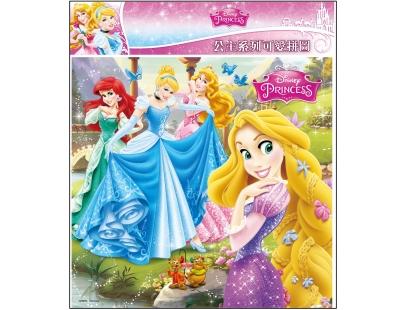 迪士尼公主系列 可爱拼图(l) / 可爱拼图 / 纸制单片
