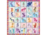 MLP_Mini Coloring Sticker Book with color pencils 1