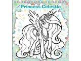 MLP_Mini Coloring Sticker Book with color pencils 10_1