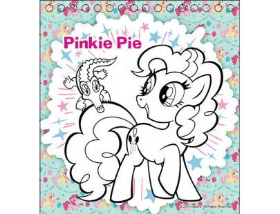MLP_Mini Coloring Sticker Book with color pencils 29_1